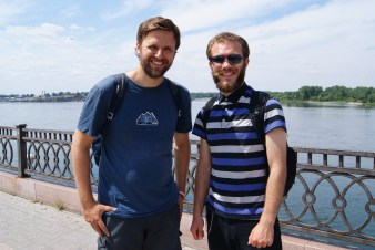 A day out with Nikolai in Irkutsk.