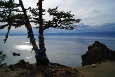 Olkhon island is said to have been a refuge for shamans from Mongolia and Buryatia due to its isolated location.