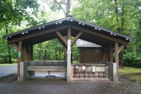 Japanese camping areas - clean and practical.