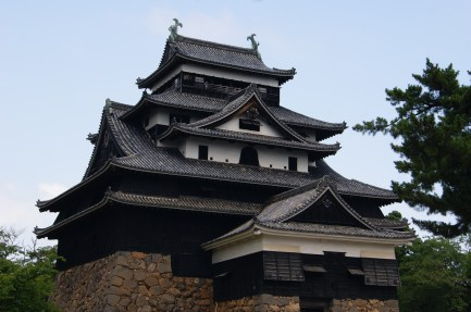 Day trip to Matsue Castle, one of only 12 originals in Japan.