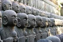Little Buddha figures. Lots of them.