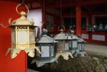 At the shrine Kasuga Taisha.