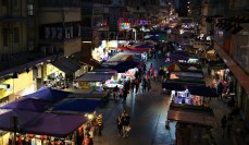 One of all the night markets.