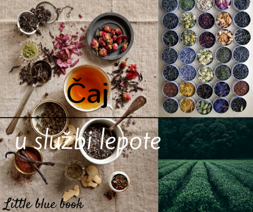 Little blue book - Čaj u službi lepote