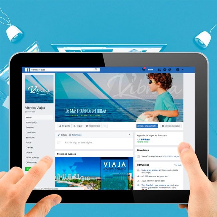 BluCactus Agencias de Redes Sociales México - Vibrasa Agencia de Viajes