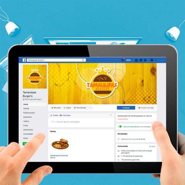 BluCactus Agencias de Redes Sociales México - Tamaulipas Burgers