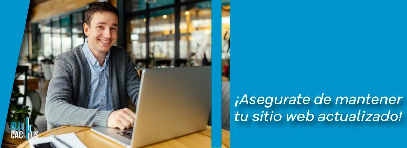 BluCactus - Tu pagina web esta actualizada?