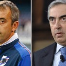 Marco Giampaolo e Maurizio Gasparri