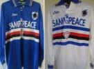 """Nella stagione 1995/1996 la Samp ha iniziato la stagione con la scritta """"Samp for peace"""" al posto dello sponsor"""