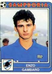 Enzo Gambaro (Genova, 23 febbraio 1966) – Cresce nella Samp (pur essendo genoano) e con la prima squadra gioca due campionati (1984-1985 e 1986-1987) con 18 presenze. Totale: 18 presenze, 1 gol