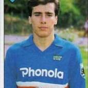 Giovanni Picasso (Recco, 20 giugno 1966) – Centrocampista nato a Recco iniziò la sua carriera da calciatore nella Samp con due presenze in blucerchiato nel 1983 e nel 1984. Totale: 1 presenza, 0 gol