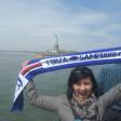Dal Sampdoria club Indonesia il blucerchiato arriva alla Statua della Libertà, New York (Usa)