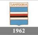 Il logo della Sampdoria del 1962