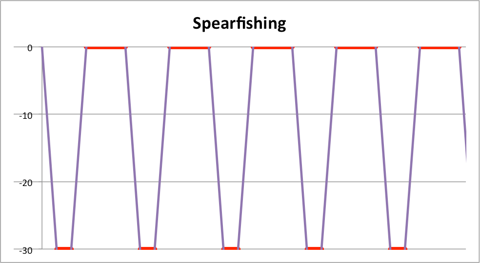 Decompression Sickness risk in spearfishing vs  freediving