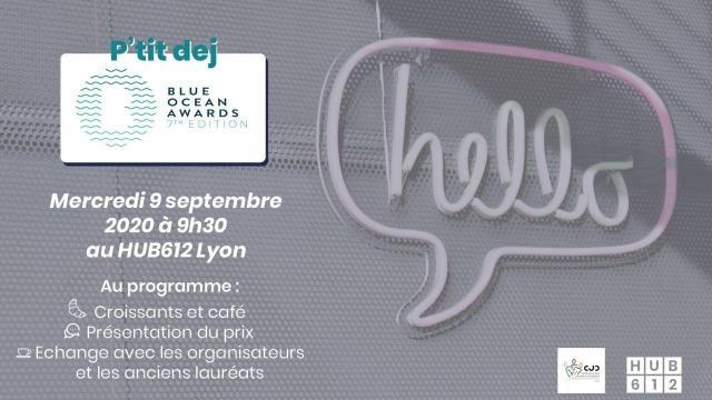 Lancement Blue Ocean Awards Auvergne Rhône Alpes avec HUB612 & CJD Lyon