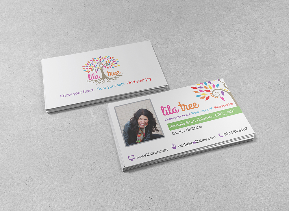 Lila Tree - Business Card Design