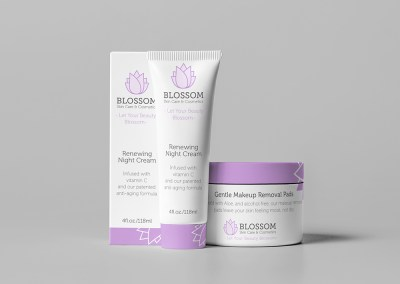Blossom Branding & Package Design