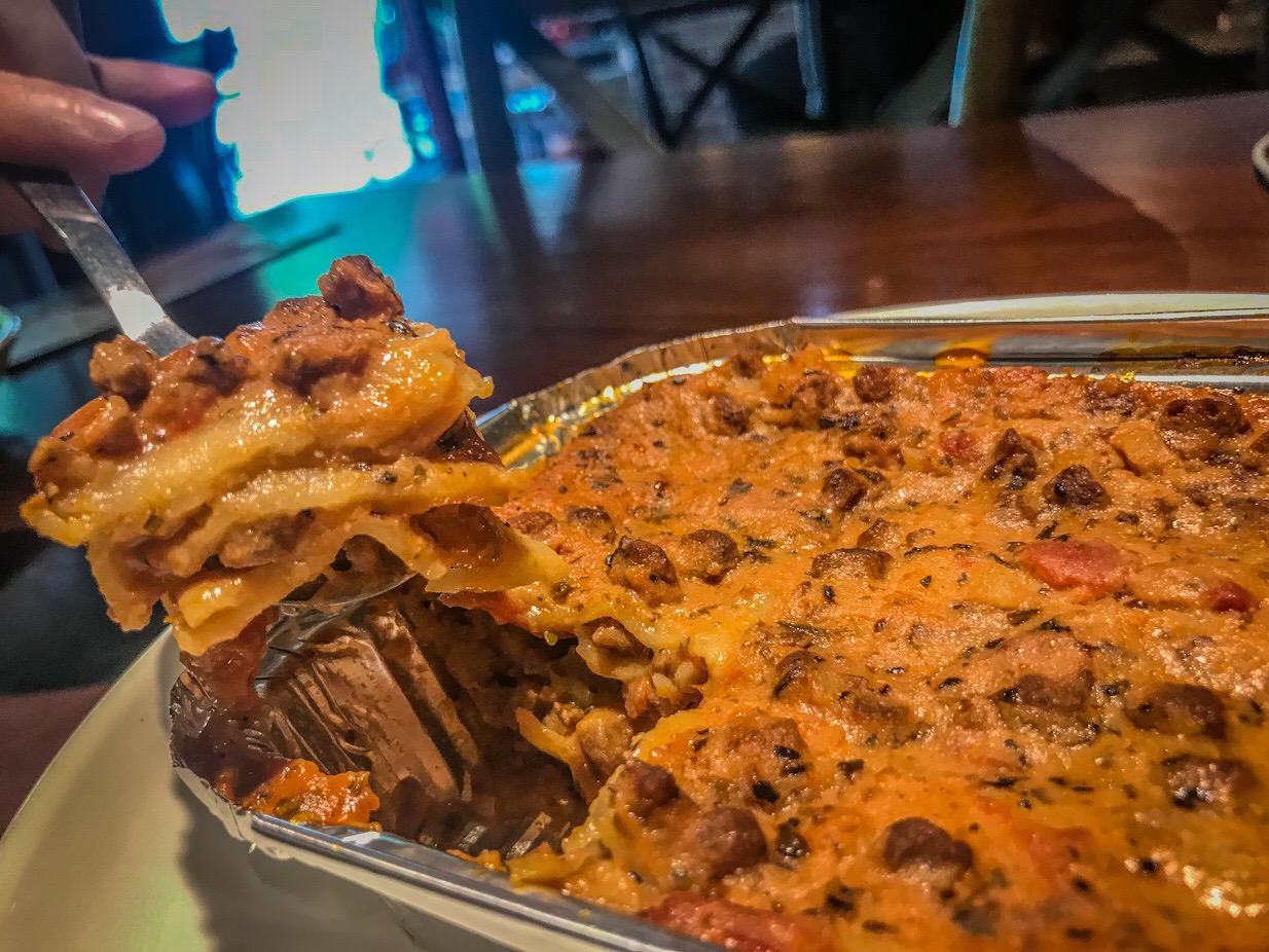 vegan lasagna Taipei