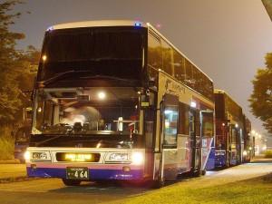 夜行バスのドリーム号