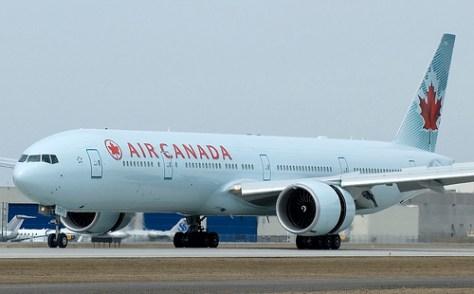 成田~トロント直行便で利用されるボーイング777 (C) Air Canada 777 / BriYYZ
