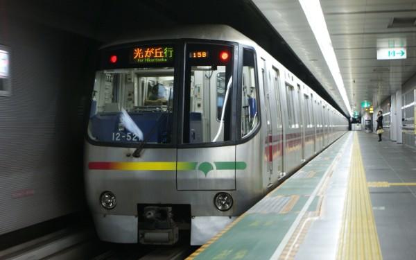 Toei Subway Oedo line connects Shinjuku with Tsukiji Market.