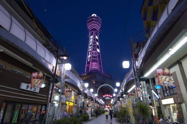 You can feel real tradition of Osaka in Shinsekai.   	©Osaka Government Tourism Bureau/©JNTO