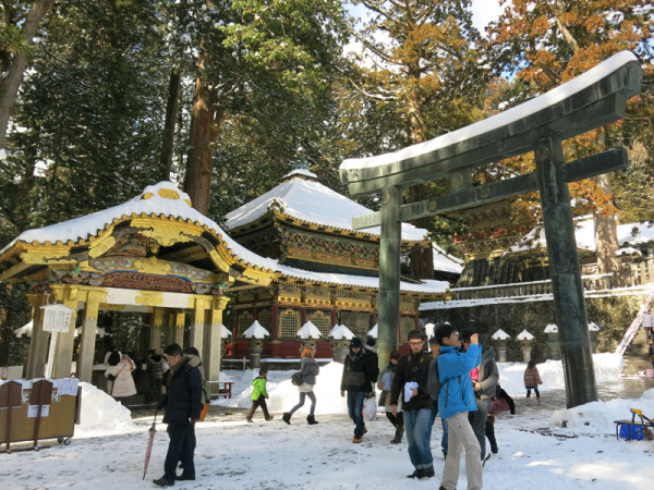 Nikko Toshogu shrine is one of the high lights in Nikko.