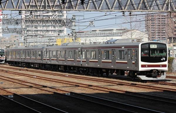 (C) JR East 205-600 series Nikko Line EMU set Y6 - Rsa