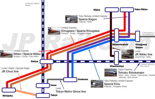 Nikko access map (click to enlarge)