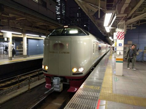 Sunrise Izumo and Sunrise Seto are only scheduled overnight trains in Japan.