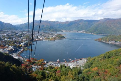 View from Mt. Kachikachi Ropeway (C) Ippukucho (Own work) [CC BY 3.0], via Wikimedia Commons