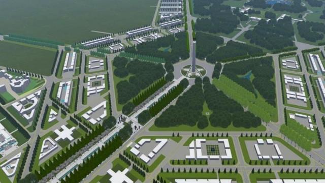 Image result for konsep ibu kota baru.