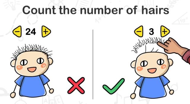 Coba dihitung berapa jumlahnya brain out adalah sebuah aplikasi game asah otak yang coba hitung lagi ada berapa helai. Kunci Jawaban Brain Out Level 13 Sampai 25 - kumparan.com
