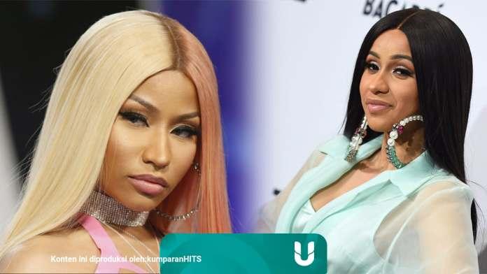 Membandingkan Kehidupan Nicki Minaj Dan Cardi B Kumparan Com