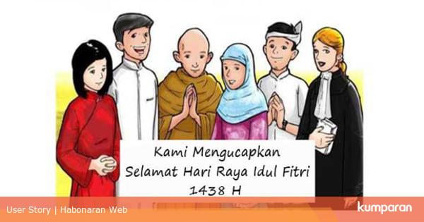 Ucapan Idul Fitri 2017 Kumpulan Kata Selamat Selamat Lebaran Hari