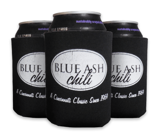 Blue Ash Chili Can Koozie
