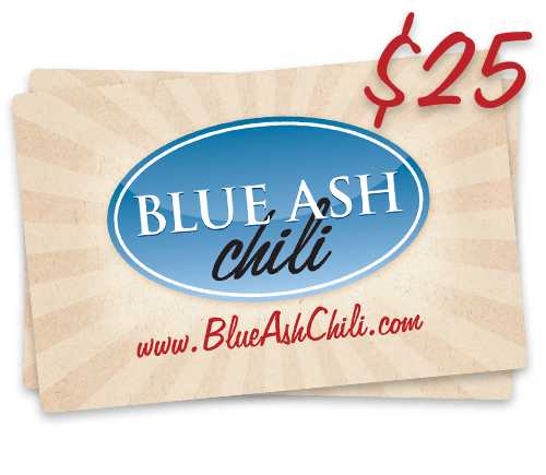 Blue Ash Chili Gift Cards