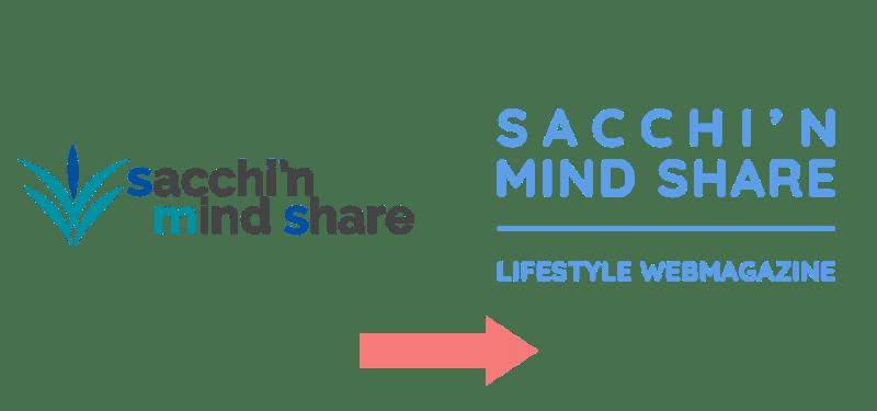 SACCHI'N MIND SHARE新旧ロゴ