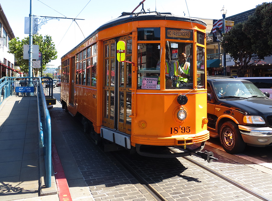 Streetcars from around the world put to work in San Francisco