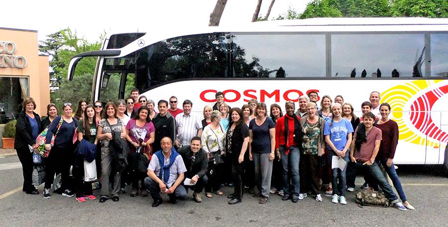 Cosmos Tour Group Shot