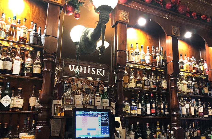 Whiski Bar Edinburgh