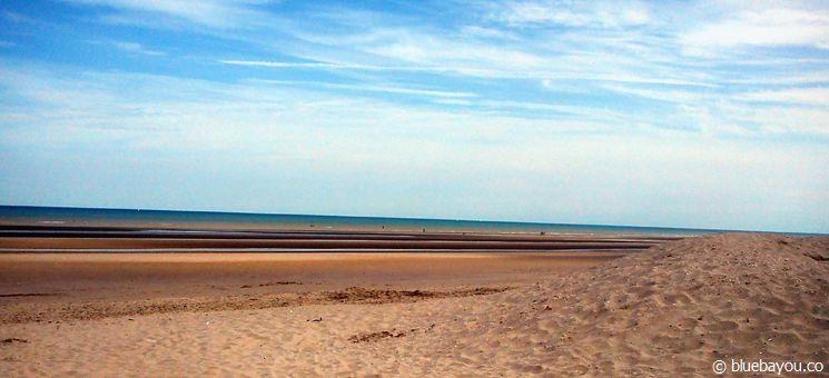 Der Strand von Bray-Dunes in Frankreich.