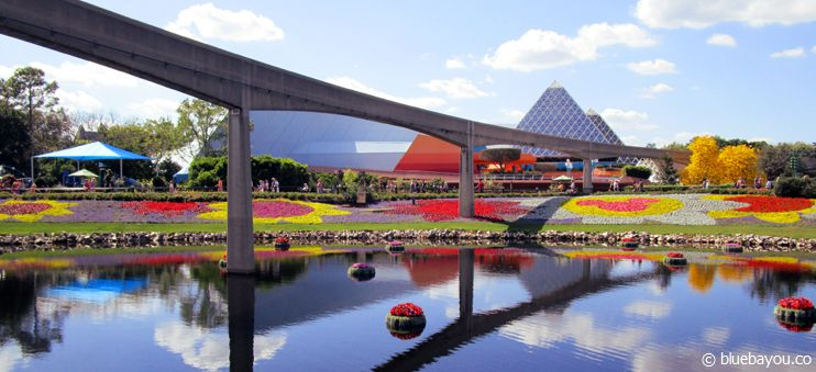 Disney Themenpark Epcot: Das Flower & Garden Festival.