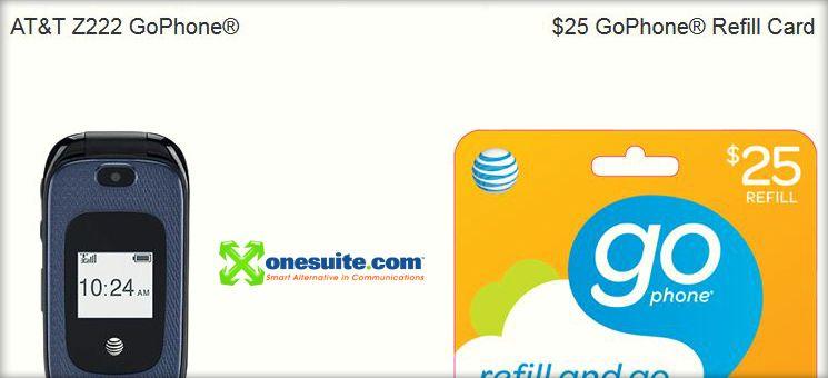 Collage: Billig telefonieren aus den USA nach Deutschland geht mit einem GoPhone und Onesuite.com.