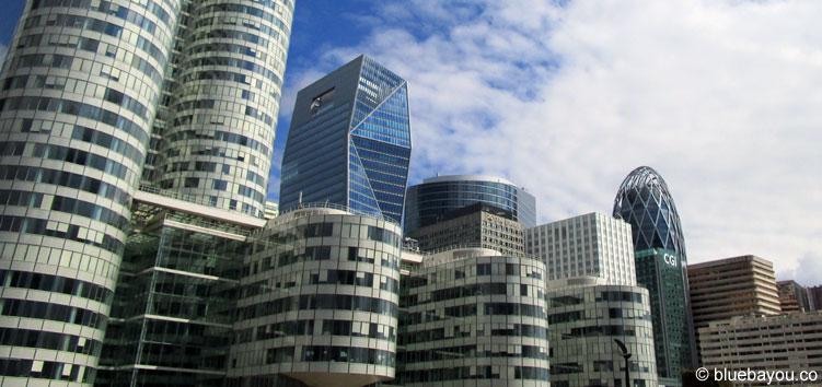 Hochhäuser im Pariser Büroviertel La Défense.
