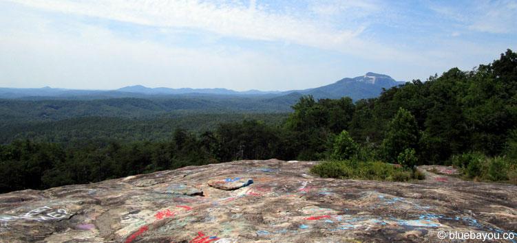 Ausblick über South Carolina vom Bald Rock Heritage Preserve.