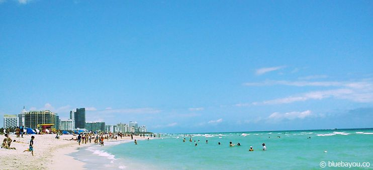 Strand in Miami Beach.