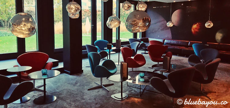 Die One Lounge des Motel One Berlin-Tiergarten.