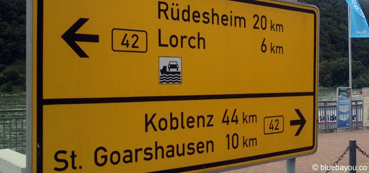 Noch zehn Kilometer bis St. Goarshausen - das letzte Stück war am schlimmsten.