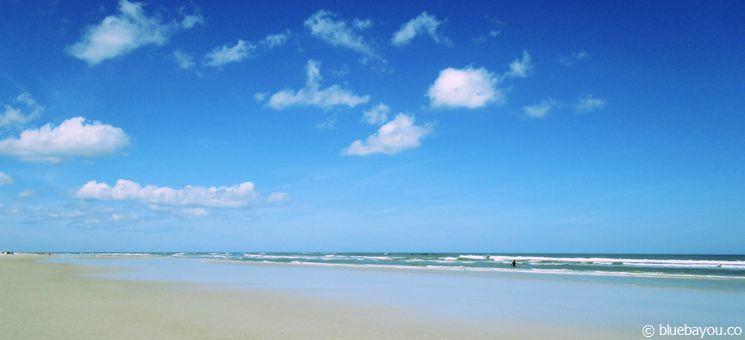 Der Strand in New Smyrna Beach.